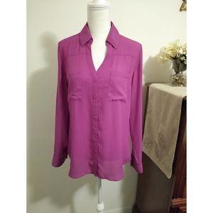 Size M Express Portofino shirt (fuschia)